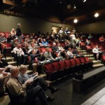 110 people in audience