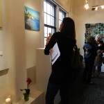 Art to admire at the Reception in Inspiration Gallery