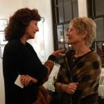 Judy Reeves and guest during reception